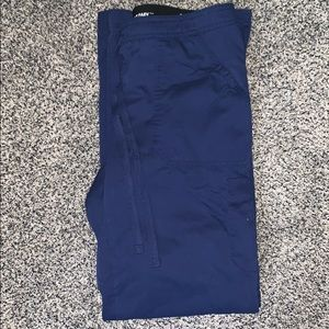 Navy blue scrub pants- 3 pants available